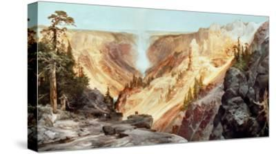 The Grand Canyon of the Yellowstone, 1872-Thomas Moran-Stretched Canvas Print