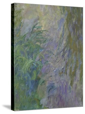 Waterlilies (Detail)-Claude Monet-Stretched Canvas Print