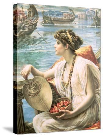 A Roman Boat Race-Edward John Poynter-Stretched Canvas Print