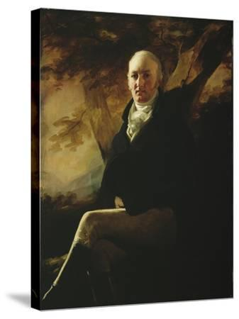 Sir James Montgomery, 2nd Baronet of Stanhope, 1804-Sir Henry Raeburn-Stretched Canvas Print