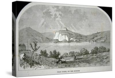 West Point, the Key Fort That Benedict Arnold Plotted to Deliver to the British During the War-American-Stretched Canvas Print