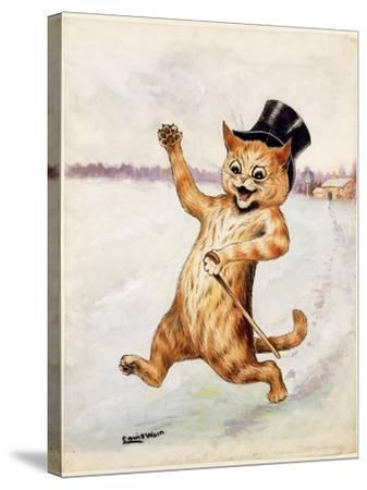 Top Cat!-Louis Wain-Stretched Canvas Print