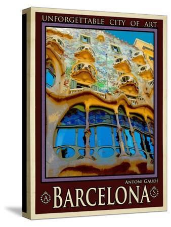 Barcelona Spain 5-Anna Siena-Stretched Canvas Print