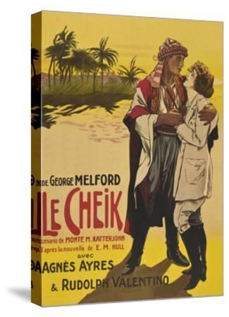 Le Cheik (The Sheik)--Stretched Canvas Print