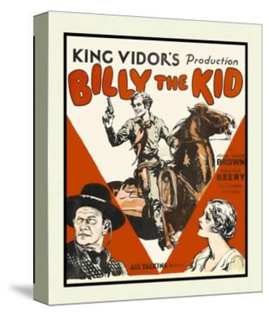 Billy the Kid--Stretched Canvas Print