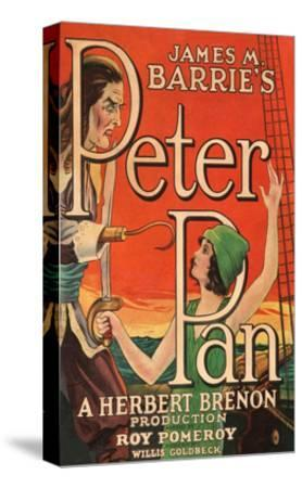 Peter Pan--Stretched Canvas Print