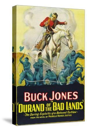 Durand of the Bad Lands--Stretched Canvas Print