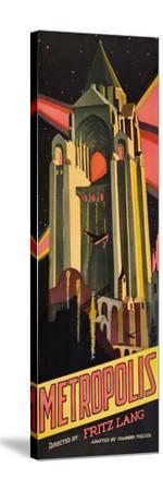 Metropolis--Stretched Canvas Print