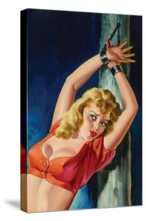The Captive-Peter Driben-Stretched Canvas Print