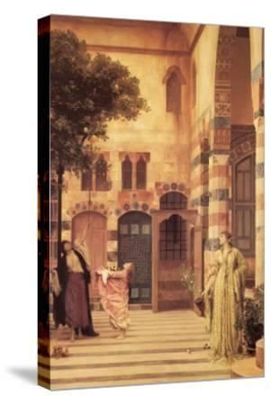 Old Damascus; the Jew's Quarter-Frederick Leighton-Stretched Canvas Print