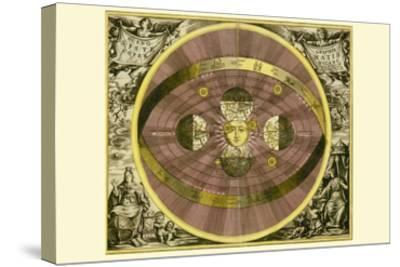 Sceno Systematis Copernicani-Andreas Cellarius-Stretched Canvas Print