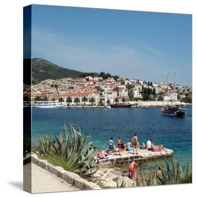 Travel Trip Croatia Island Hopping-Sheila Norman-Culp-Stretched Canvas Print
