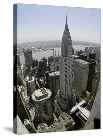 Chrysler Building-Adam Rountree-Stretched Canvas Print