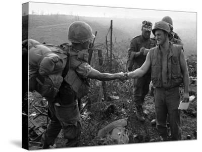 Vietnam Marines 1st Cavalry 1968-Holloway-Stretched Canvas Print