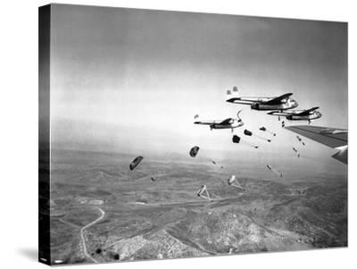 Korean War-James Martenhoff-Stretched Canvas Print