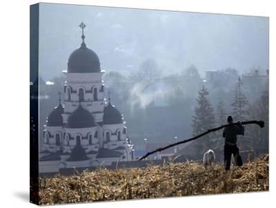 APTOPIX Moldova Daily Life-John Mcconnico-Stretched Canvas Print