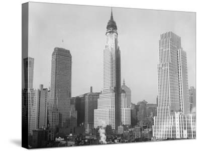 Chrysler Building 1929--Stretched Canvas Print
