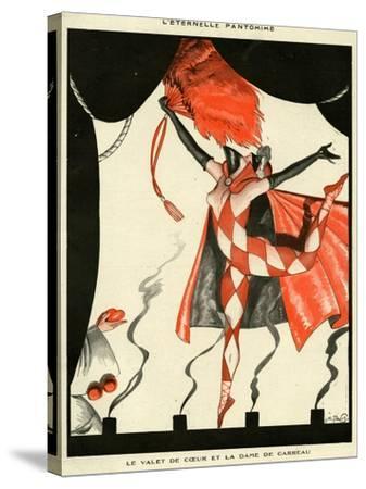 La Vie Parisienne, Georges Pavis, 1923, France--Stretched Canvas Print