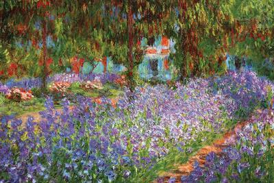 Luncheon on the Grass-Claude Monet-Stretched Canvas Print