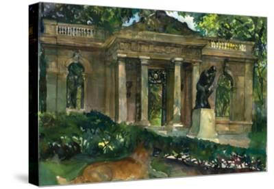 Roden Museum-Noel Miles-Stretched Canvas Print