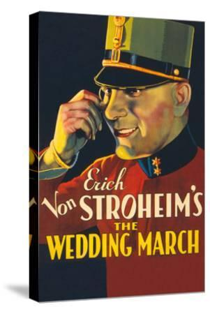 The Wedding March- Paramount-Stretched Canvas Print