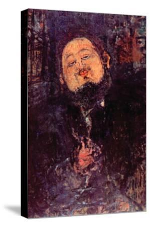 Diego Rivera-Amedeo Modigliani-Stretched Canvas Print
