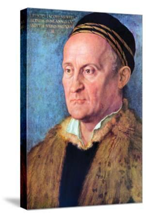 Portrait of Jacob Muffel-Albrecht D?rer-Stretched Canvas Print