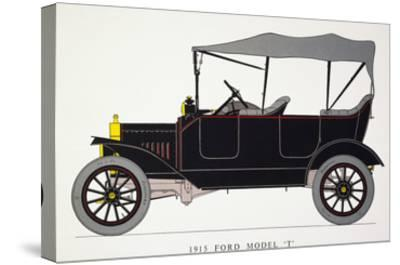 Auto: Model T Ford, 1915--Stretched Canvas Print