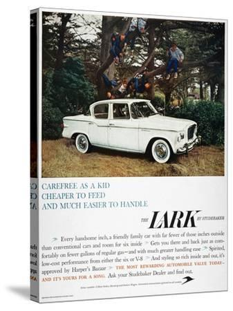 Studebaker Ad, 1959--Stretched Canvas Print
