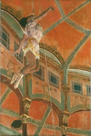 Degas: Miss La La-Edgar Degas-Stretched Canvas Print