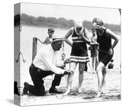 Bathing Suits, 1922--Stretched Canvas Print