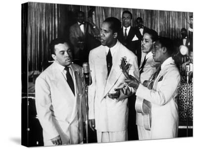 The Ink Spots, c1945--Stretched Canvas Print