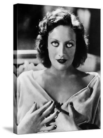 Joan Crawford (1908-1973)--Stretched Canvas Print