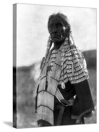 Sioux Woman, c1907-Edward S^ Curtis-Stretched Canvas Print