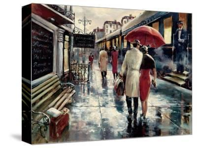 Metropolitan Station-Brent Heighton-Stretched Canvas Print