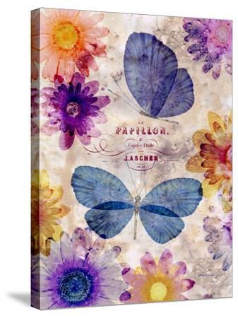 Fleur De Papillion 1-Morgan Yamada-Stretched Canvas Print