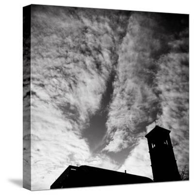 Jusdon and Clouds-Evan Morris Cohen-Stretched Canvas Print