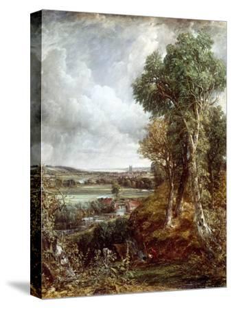 Dedham Vale-John Constable-Stretched Canvas Print