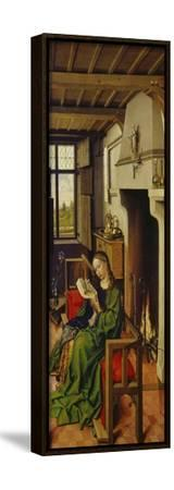 St. Barbara, about 1438-Master of Flemalle-Framed Stretched Canvas Print