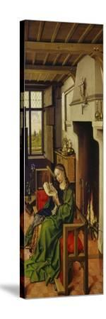 St. Barbara, about 1438-Master of Flemalle-Stretched Canvas Print