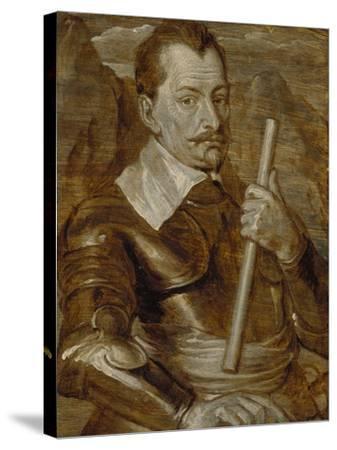 Graf Albrecht Von Wallenstein-Sir Anthony Van Dyck-Stretched Canvas Print