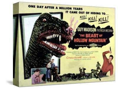 Beast of Hollow Mountain, 1956--Stretched Canvas Print