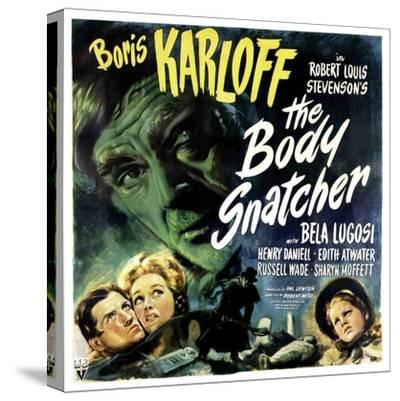 The Body Snatcher, Boris Karloff (Top), Sharyn Moffett (Bottom, Right), 1945--Stretched Canvas Print