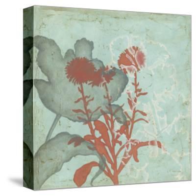 Trois Fleur I-Megan Meagher-Stretched Canvas Print
