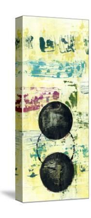 Retro Textures I-Jennifer Goldberger-Stretched Canvas Print