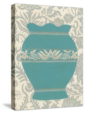 Pottery Patterns IV-June Erica Vess-Stretched Canvas Print