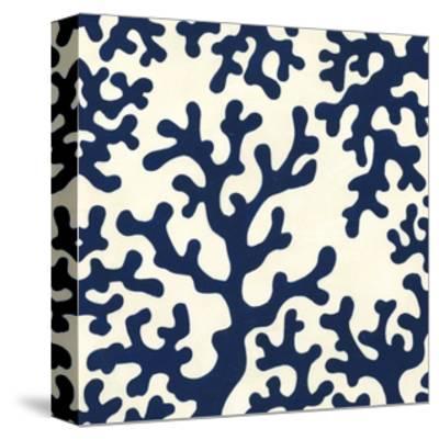 Ocean Motifs I-Erica J^ Vess-Stretched Canvas Print