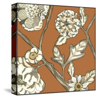 Butterscotch Chintz IV-Chariklia Zarris-Stretched Canvas Print
