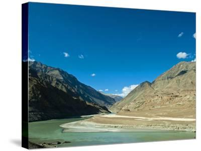 Landscape, Markha Valley, Ladakh, India-Anthony Asael-Stretched Canvas Print