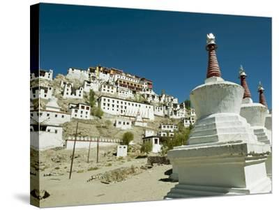 Thiksey Monastery, Thiksey, Ladakh, India-Anthony Asael-Stretched Canvas Print